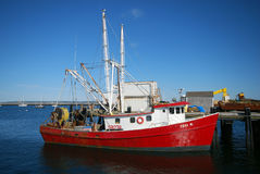 Cape Cod Fishing Boat Royalty Free Stock Photography