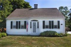 Cape Cod-Haus stockbilder