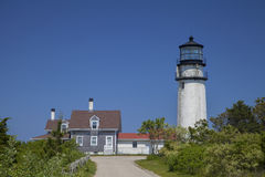 Cape Cod Highland Lighthouse Royalty Free Stock Photos