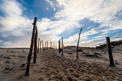Cape Cod i November Arkivfoto