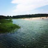 Cape Cod ist mein Leben u. Ihre Ferien Stockfotos