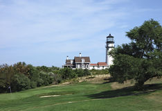 Cape Cod Lighthouse Stock Photo