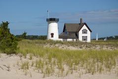Cape Cod Lighthouse Without Lantern Stock Photo