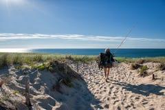 Sommerferien bei Cape Cod Lizenzfreies Stockbild