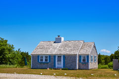 Cape Cod mieści architekturę Massachusetts USA Fotografia Stock