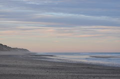 Cape Cod National Seashore Beach at sunset Stock Photos