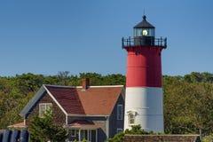 Cape Cod Nauset Light House Stock Photo