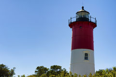 Cape Cod Nauset Light House Royalty Free Stock Photography