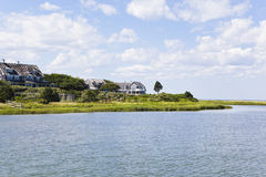 Cape cod: new england houses Stock Images