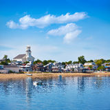 Cape Cod Provincetown beach Massachusetts Stock Image