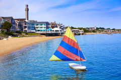 Cape Cod Provincetown beach Massachusetts Royalty Free Stock Photography