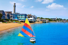 Cape Cod Provincetown beach Massachusetts Royalty Free Stock Images