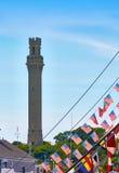 Cape Cod Provincetown Pilgrim tower Stock Photos