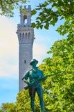 Cape Cod Provincetown Pilgrim tower Massachusetts Stock Photo