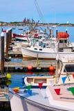 Cape Cod Provincetown port Massachusetts USA Arkivbild