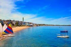 Cape Cod Provincetown strand Massachusetts Royaltyfri Foto