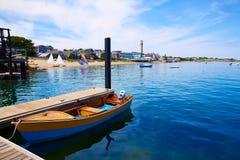 Cape Cod Provincetown strand Massachusetts Royaltyfria Foton