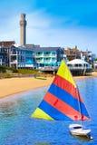 Cape Cod Provincetown strand Massachusetts Fotografering för Bildbyråer