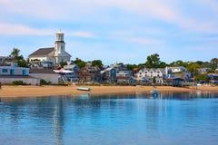 Cape Cod Provincetown strand Massachusetts Royaltyfri Fotografi