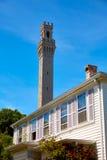 Cape Cod Provincetown vallfärdar tornet Massachusetts Royaltyfri Bild