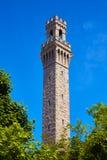 Cape Cod Provincetown vallfärdar tornet Massachusetts Arkivbild