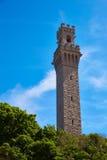 Cape Cod Provincetown vallfärdar tornet Massachusetts Fotografering för Bildbyråer