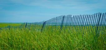 Cape Cod Sand Fence Stock Photos