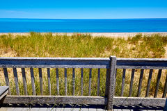 Cape Cod Sandy Neck Beach Massachusetts US Stock Image