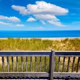 Cape Cod Sandy Neck Beach Massachusetts USA Royaltyfri Fotografi