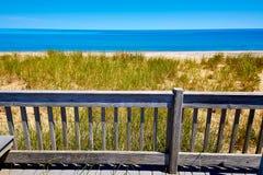 Cape Cod Sandy Neck Beach Massachusetts USA Fotografering för Bildbyråer