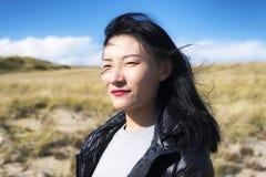 Cape Cod Seashore natury Krajowa kobieta obrazy royalty free