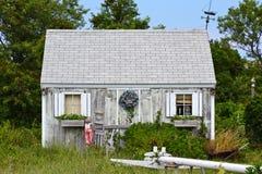 Cape Cod Shack. A rundown shack in Cape Cod, Massachusetts Stock Image