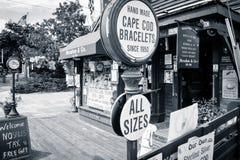 Cape Cod shoppar Arkivbilder