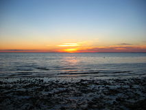 Cape Cod, Sunset 05. A nice sunset from a cape cod, massachusetts beach Stock Image