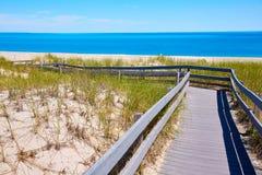 Cape Cod szyi Piaskowata plaża Massachusetts USA Obraz Stock