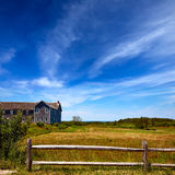 Cape Cod Truro house in Massachusetts USA Stock Image