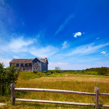 Cape Cod Truro house in Massachusetts USA Royalty Free Stock Photos