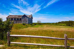 Cape Cod Truro house in Massachusetts USA Royalty Free Stock Photo