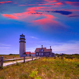 Cape Cod Truro lighthouse Massachusetts US Stock Photo