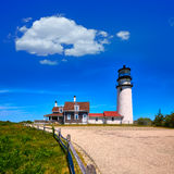 Cape Cod Truro lighthouse Massachusetts US Stock Images
