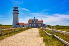 Cape Cod Truro lighthouse Massachusetts US Stock Image