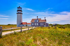 Cape Cod Truro lighthouse Massachusetts US Stock Photography