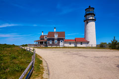 Cape Cod Truro lighthouse Massachusetts US Royalty Free Stock Photo
