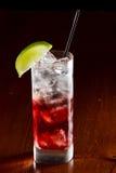 Cape cod, vodka and cranberry Stock Photo