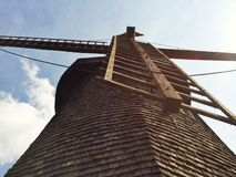 Cape cod windmill Royalty Free Stock Photos