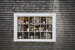 Cape Cod Window Stock Image