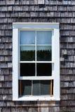 Cape Cod window photomount Massachusetts Royalty Free Stock Photos