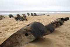 Cape- Codschiffswrack Stockfotografie