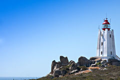 Cape Columbine Lighthouse Stock Images
