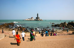 Cape Comorin, Kanyakumari,india Royalty Free Stock Image